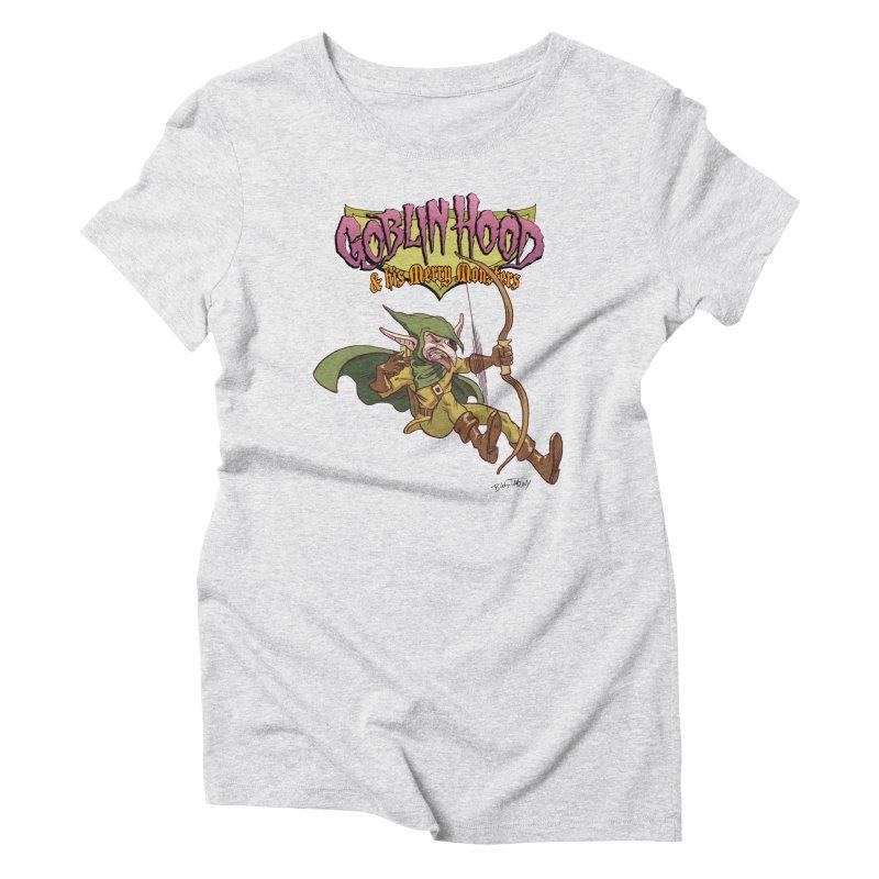 Goblin Hood Women's T-Shirt by Twin Comics's Artist Shop