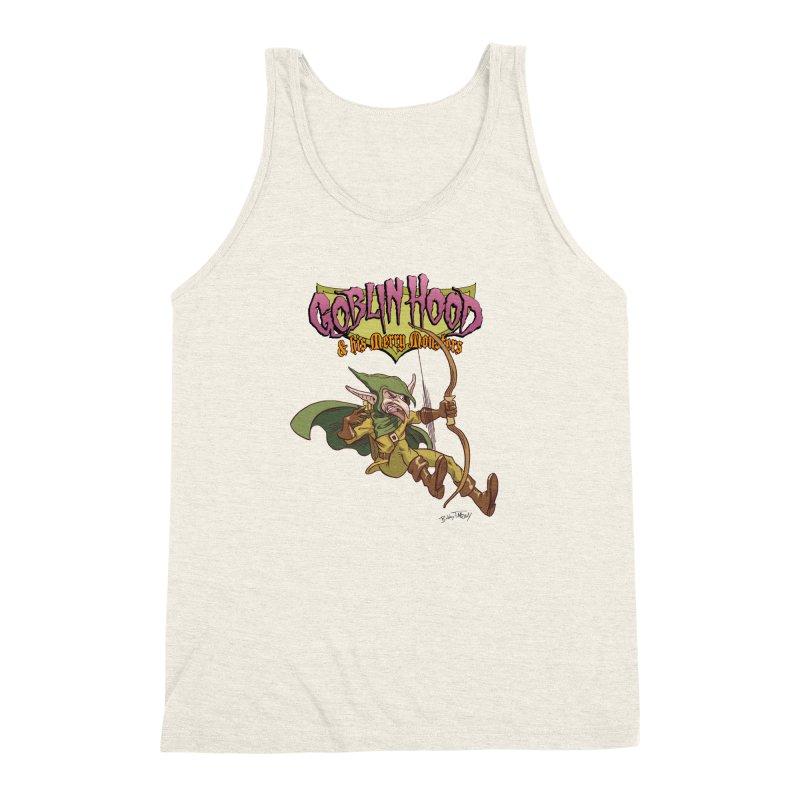 Goblin Hood Men's Triblend Tank by Twin Comics's Artist Shop