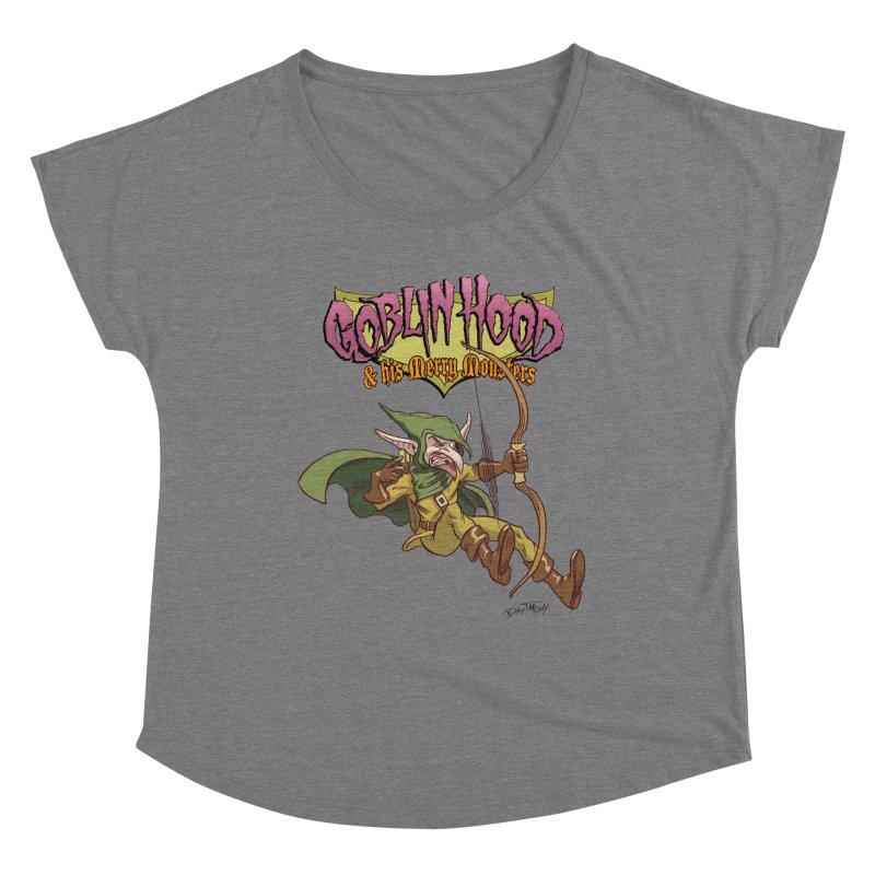 Goblin Hood Women's Scoop Neck by Twin Comics's Artist Shop