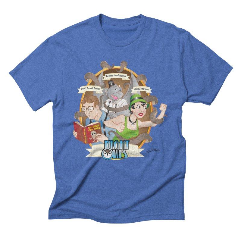 Night Owls Men's T-Shirt by Twin Comics's Artist Shop