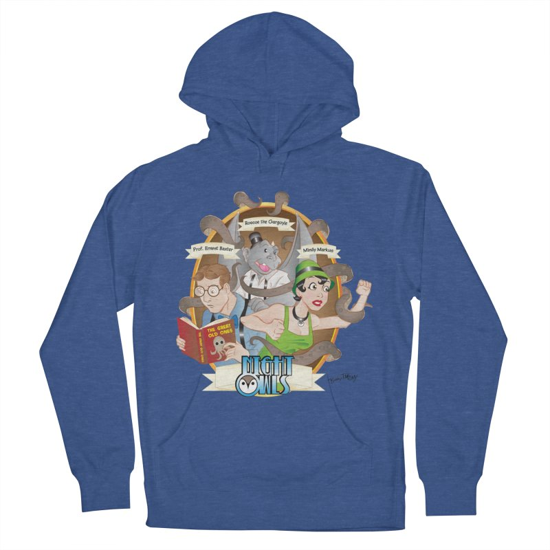 Night Owls Women's French Terry Pullover Hoody by Twin Comics's Artist Shop