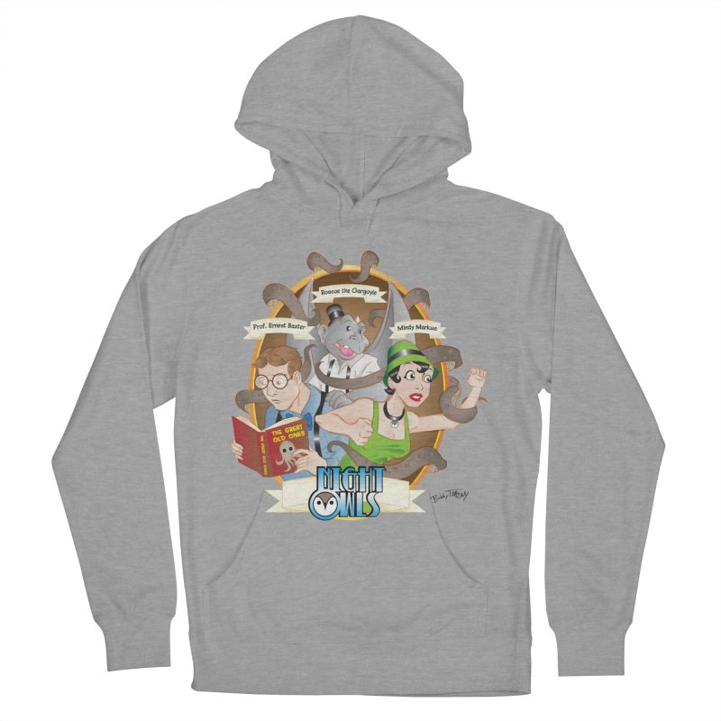 Night Owls Men's French Terry Pullover Hoody by Twin Comics's Artist Shop
