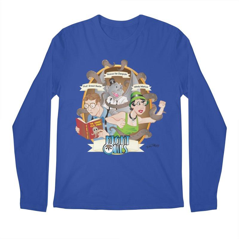 Night Owls Men's Regular Longsleeve T-Shirt by Twin Comics's Artist Shop