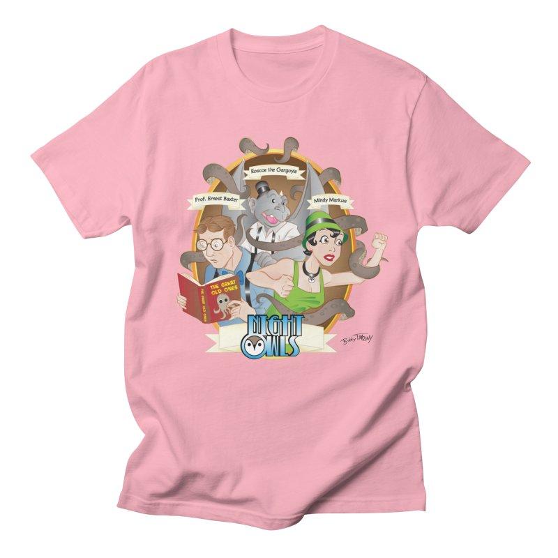 Night Owls Men's Regular T-Shirt by Twin Comics's Artist Shop
