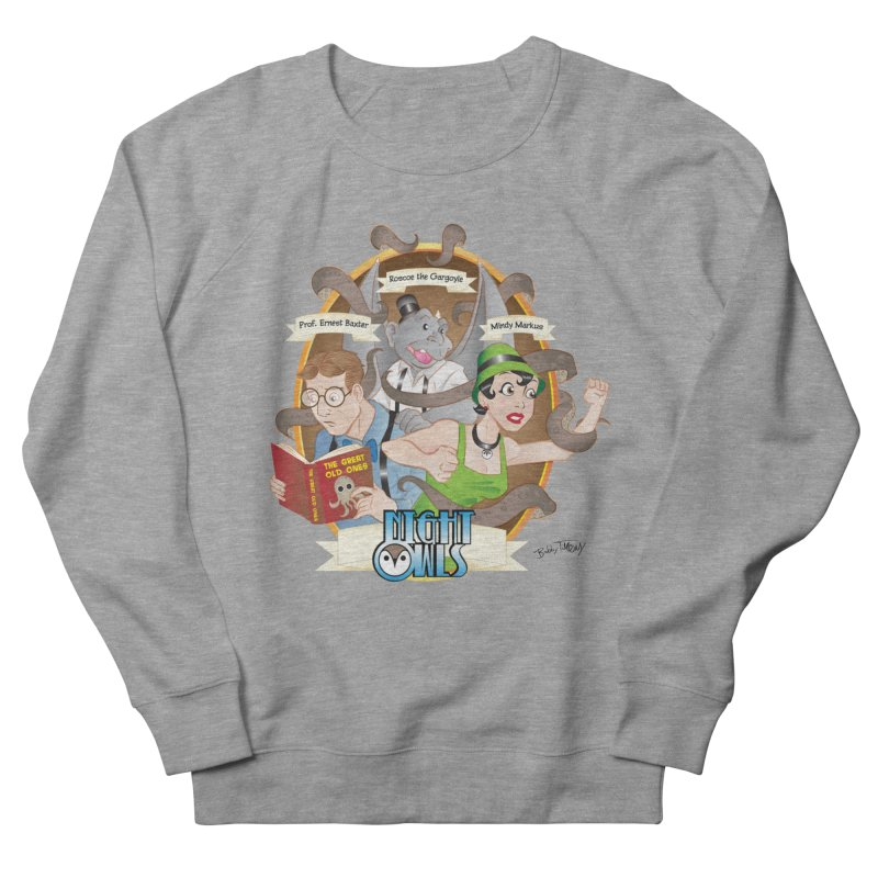 Night Owls Women's French Terry Sweatshirt by Twin Comics's Artist Shop