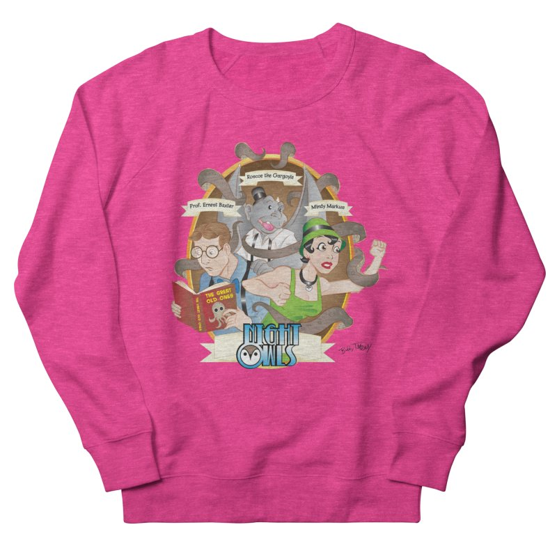 Night Owls Women's French Terry Sweatshirt by Twin Comics's Artist Shop
