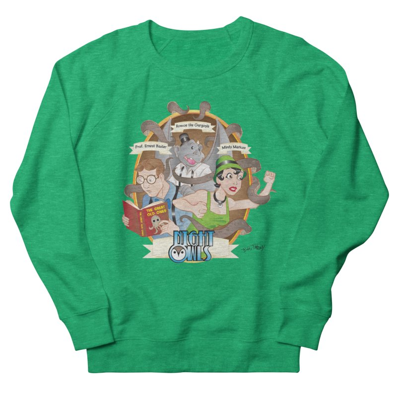 Night Owls Men's French Terry Sweatshirt by Twin Comics's Artist Shop