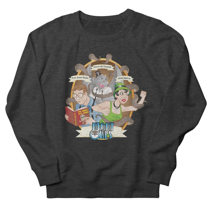 Night Owls Men's French Terry Sweatshirt by Twin Comics's Artist Shop