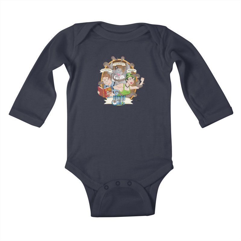 Night Owls Kids Baby Longsleeve Bodysuit by Twin Comics's Artist Shop
