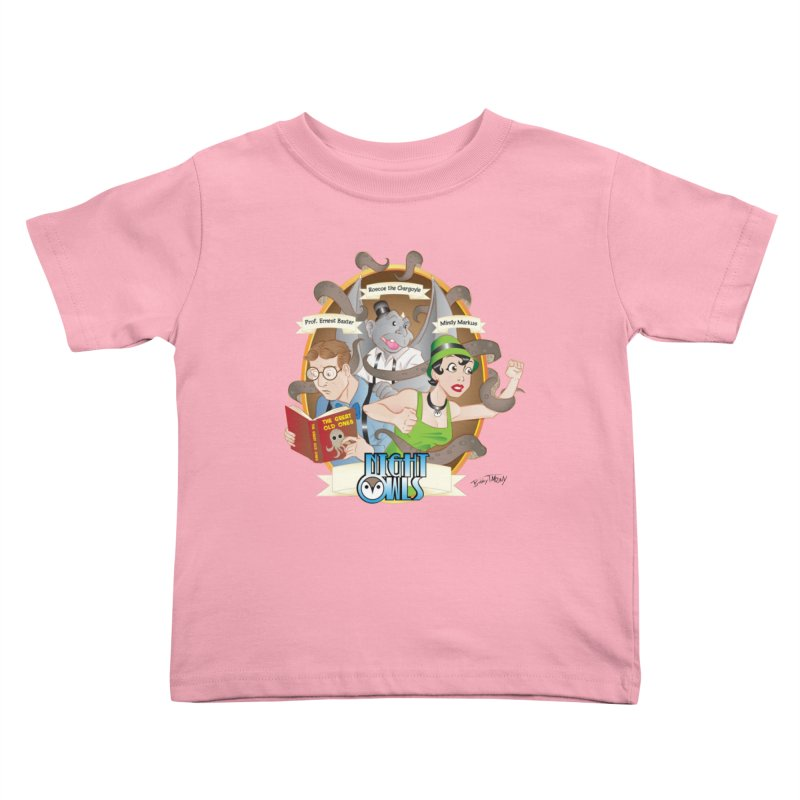 Night Owls Kids Toddler T-Shirt by Twin Comics's Artist Shop