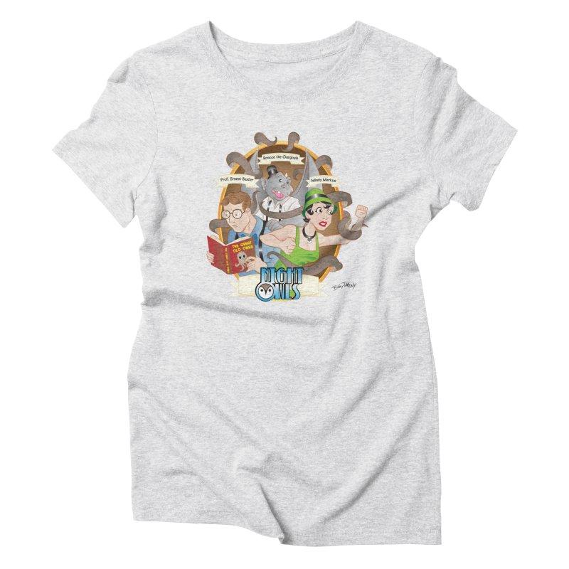 Night Owls Women's T-Shirt by Twin Comics's Artist Shop