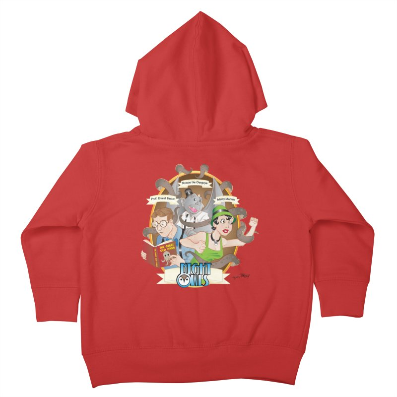 Night Owls Kids Toddler Zip-Up Hoody by Twin Comics's Artist Shop