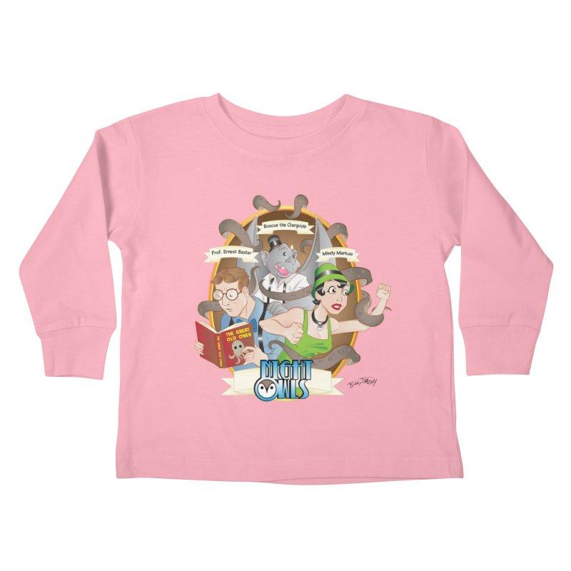 Night Owls Kids Toddler Longsleeve T-Shirt by Twin Comics's Artist Shop