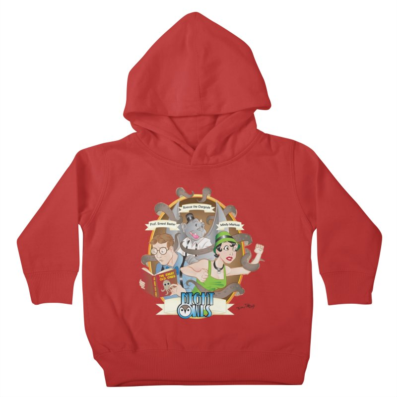 Night Owls Kids Toddler Pullover Hoody by Twin Comics's Artist Shop