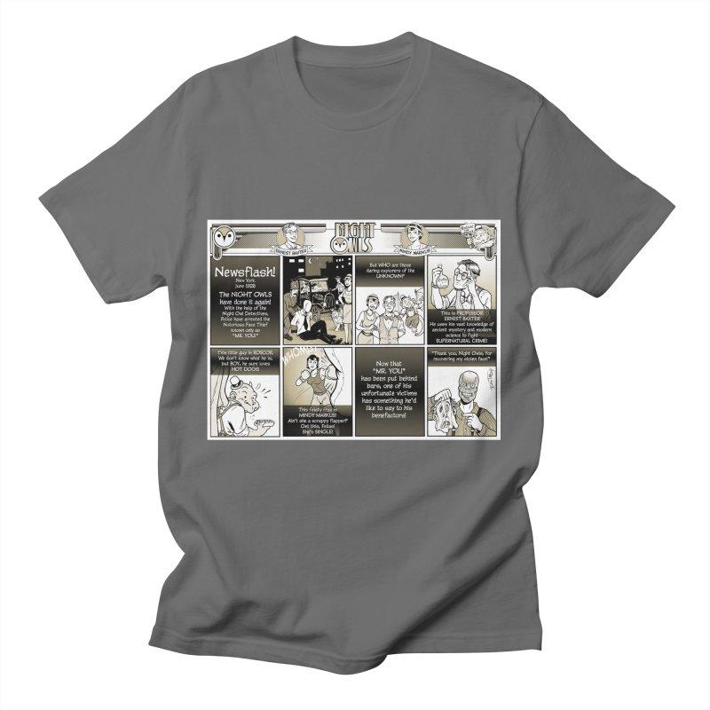 Night Owls First Appearance Men's T-Shirt by Twin Comics's Artist Shop