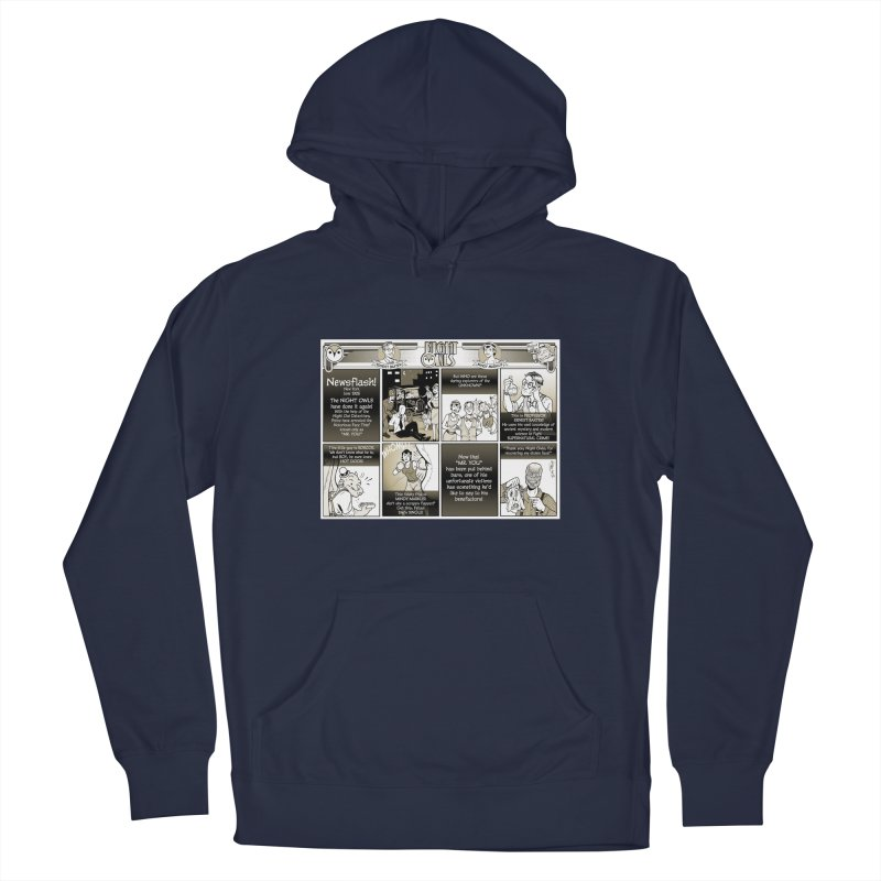 Night Owls First Appearance Women's Pullover Hoody by Twin Comics's Artist Shop