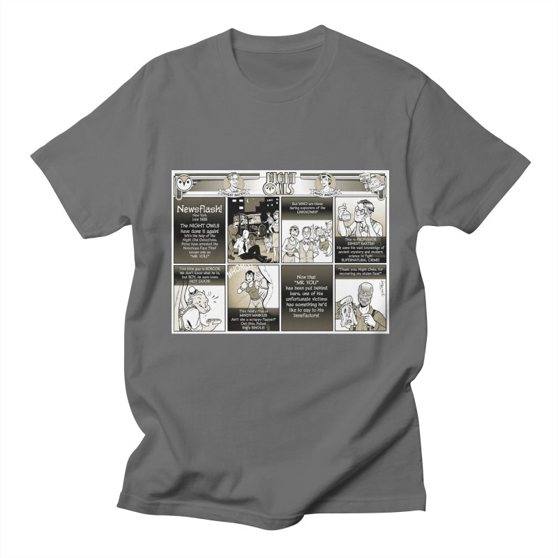 Night Owls First Appearance Men's T-Shirt by Twin Comics's Artist Shop
