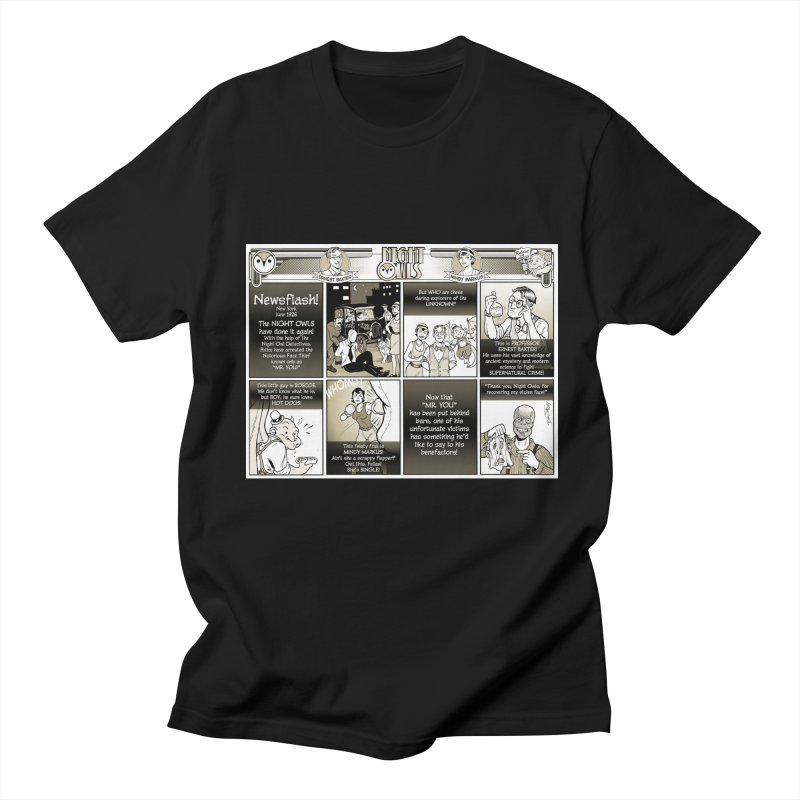 Night Owls First Appearance Men's Regular T-Shirt by Twin Comics's Artist Shop