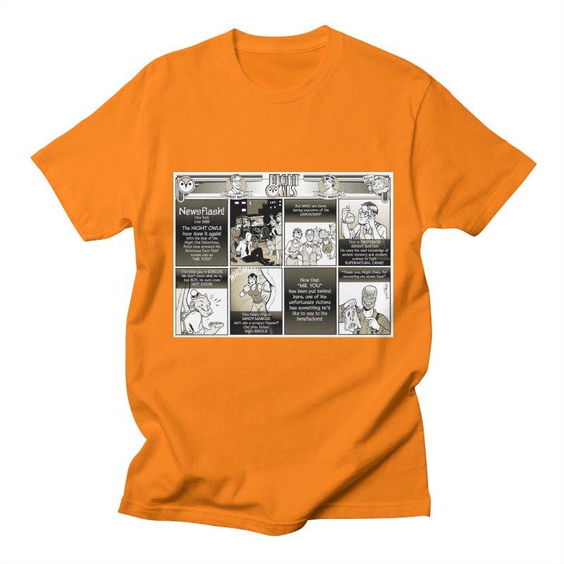 Night Owls First Appearance Men's Regular T-Shirt by Twin Comics's Artist Shop