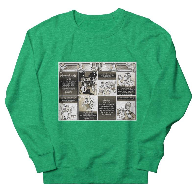 Night Owls First Appearance Women's Sweatshirt by Twin Comics's Artist Shop