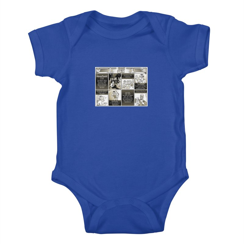 Night Owls First Appearance Kids Baby Bodysuit by Twin Comics's Artist Shop