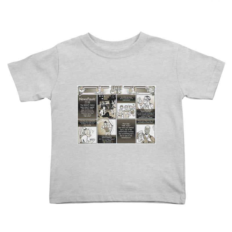 Night Owls First Appearance Kids Toddler T-Shirt by Twin Comics's Artist Shop