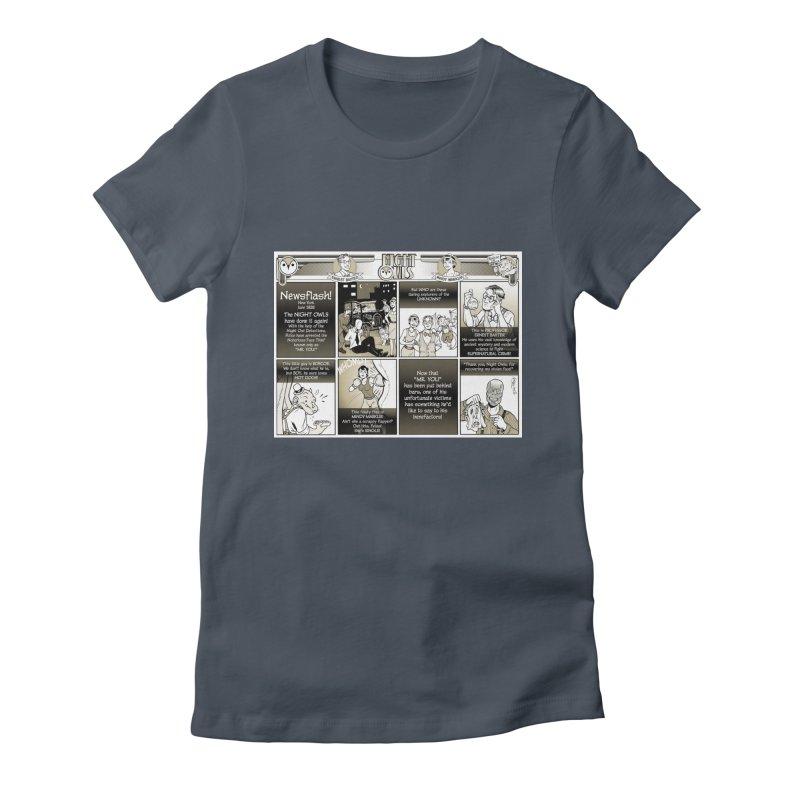 Night Owls First Appearance Women's T-Shirt by Twin Comics's Artist Shop