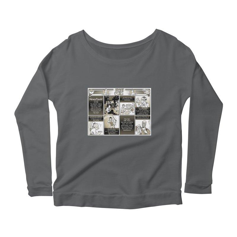 Night Owls First Appearance Women's Longsleeve T-Shirt by Twin Comics's Artist Shop