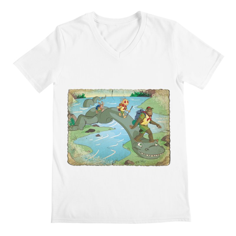 Campfire Mythology 1 Men's V-Neck by Twin Comics's Artist Shop