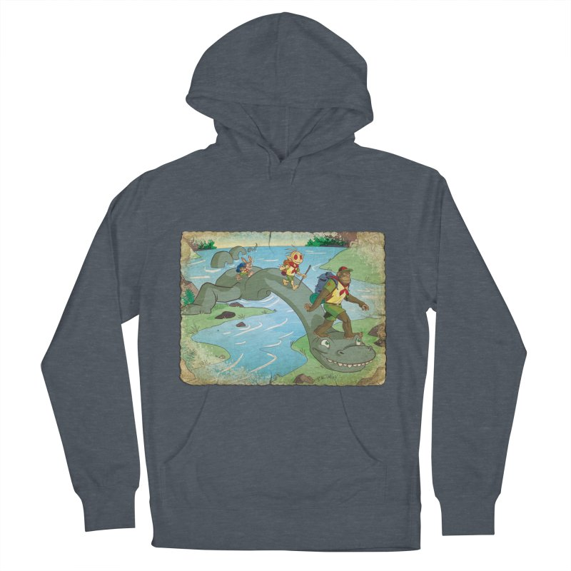 Campfire Mythology 1 Men's French Terry Pullover Hoody by Twin Comics's Artist Shop