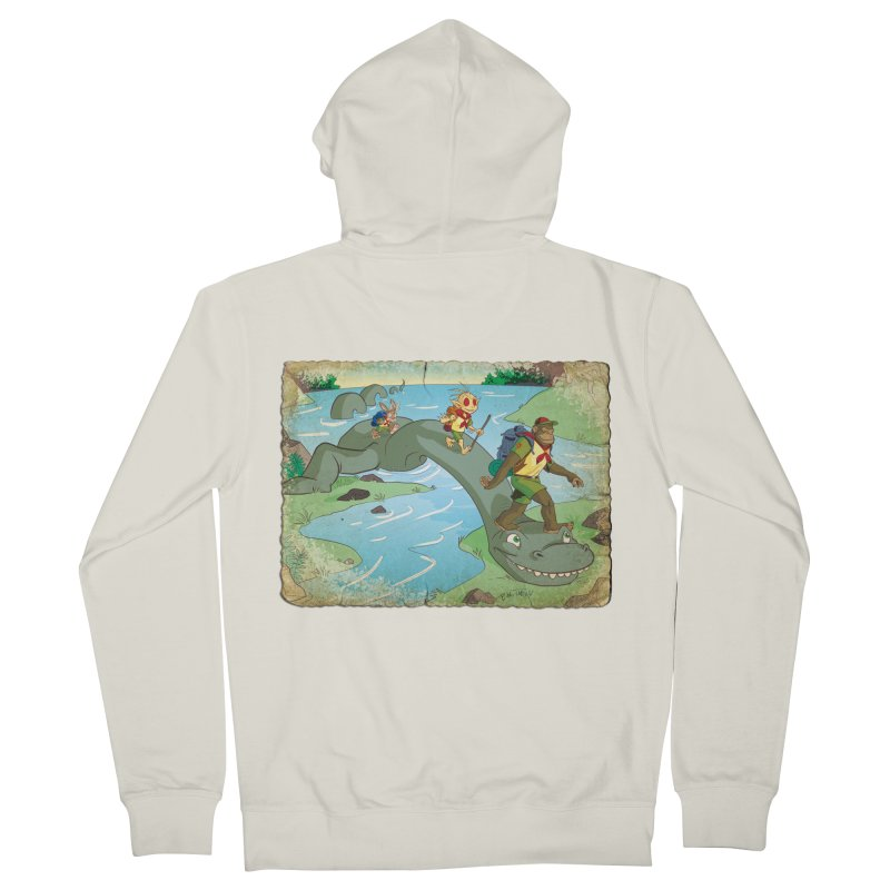 Campfire Mythology 1 Women's French Terry Zip-Up Hoody by Twin Comics's Artist Shop