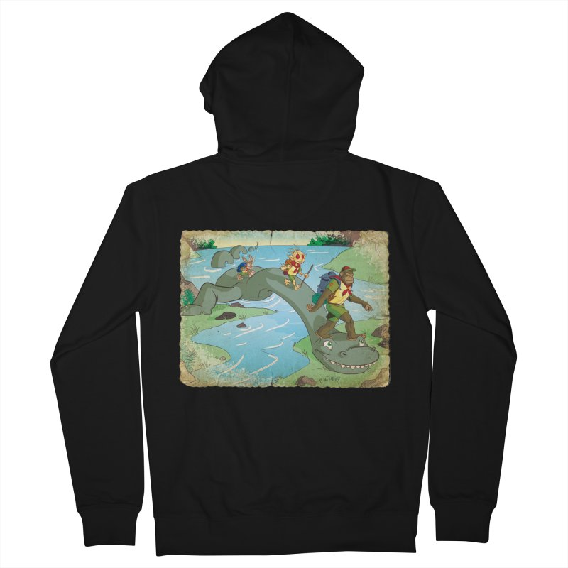 Campfire Mythology 1 Men's French Terry Zip-Up Hoody by Twin Comics's Artist Shop