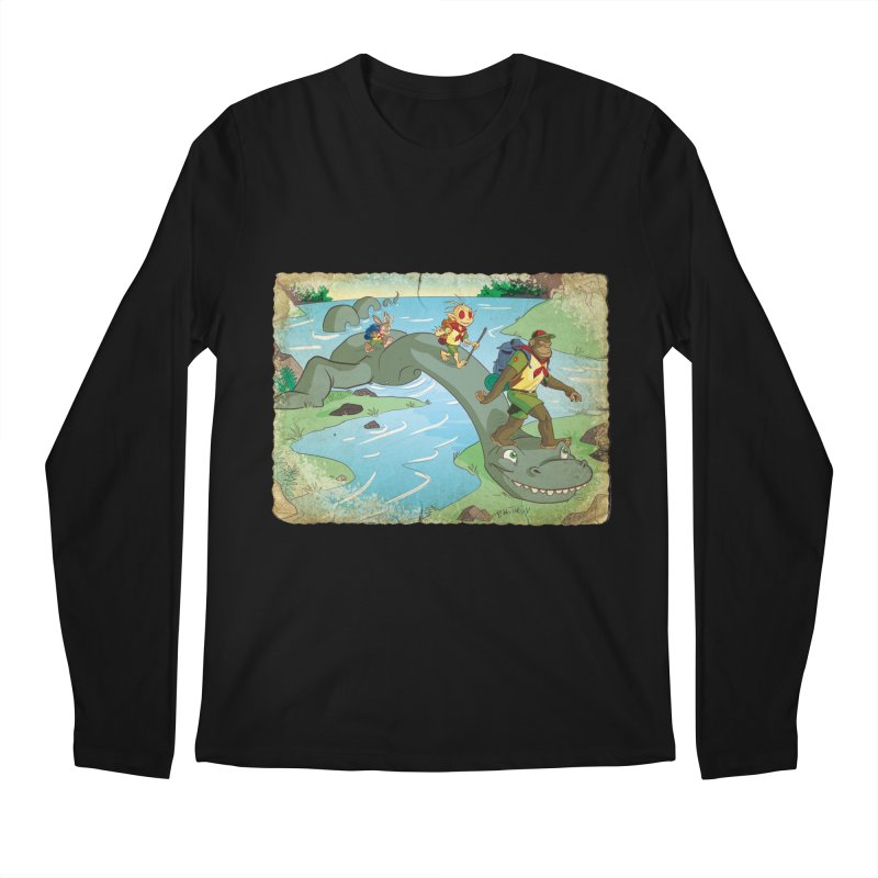 Campfire Mythology 1 Men's Regular Longsleeve T-Shirt by Twin Comics's Artist Shop