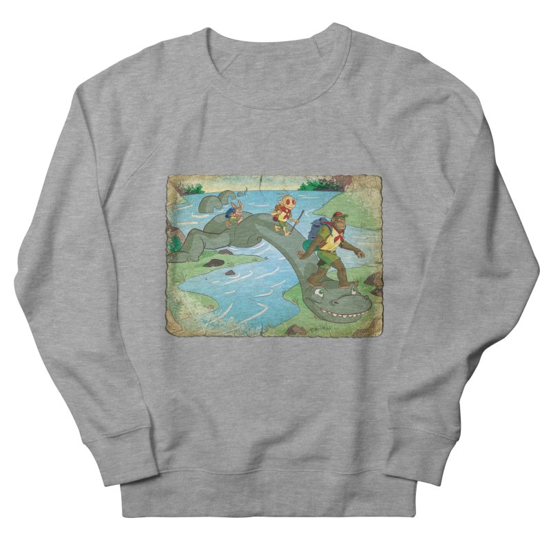 Campfire Mythology 1 Men's French Terry Sweatshirt by Twin Comics's Artist Shop