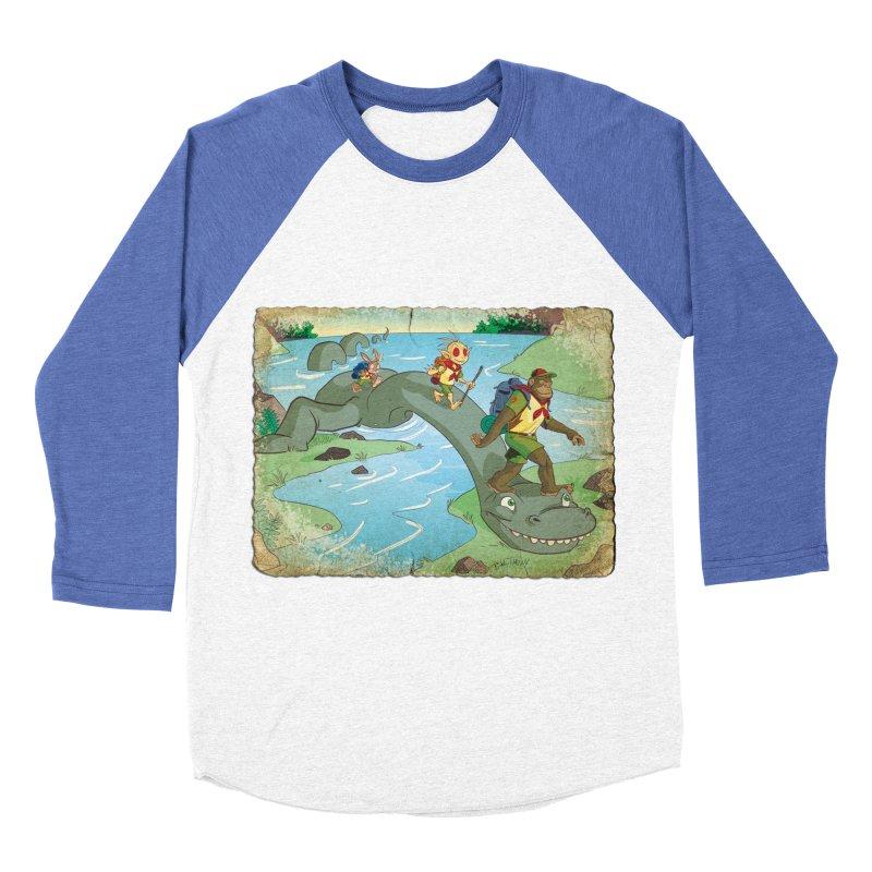 Campfire Mythology 1 Men's Baseball Triblend Longsleeve T-Shirt by Twin Comics's Artist Shop
