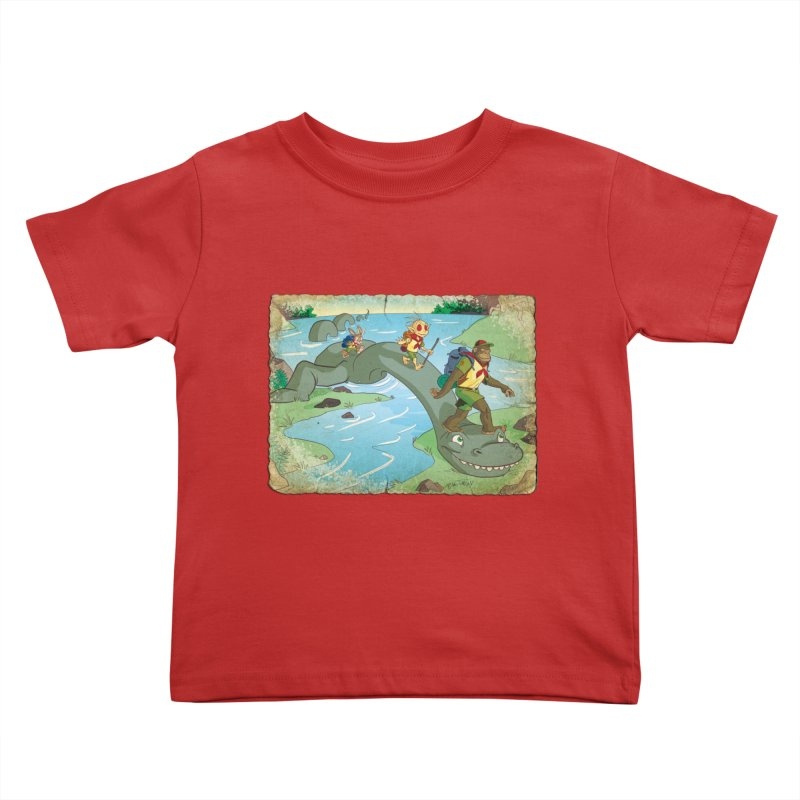 Campfire Mythology 1 Kids Toddler T-Shirt by Twin Comics's Artist Shop