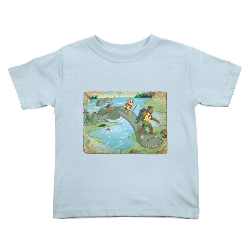 Campfire Mythology 1 Kids Toddler T-Shirt by Twin Comics's Artist Shop