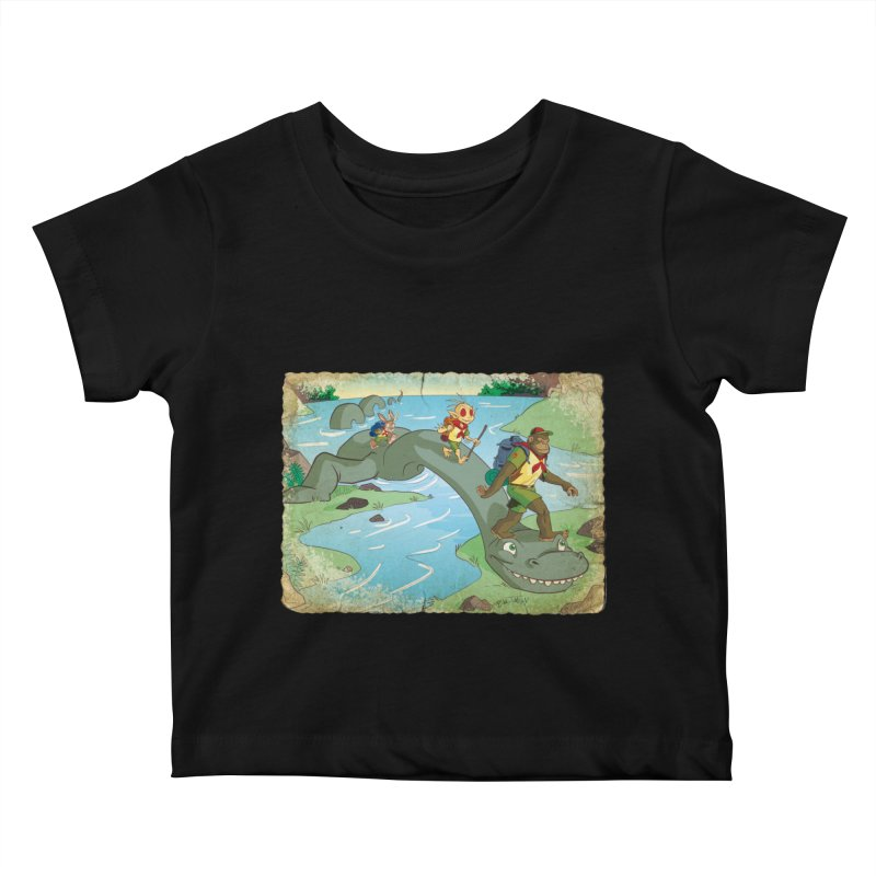 Campfire Mythology 1 Kids Baby T-Shirt by Twin Comics's Artist Shop