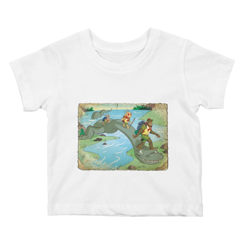Campfire Mythology 1 Kids Baby T-Shirt by Twin Comics's Artist Shop