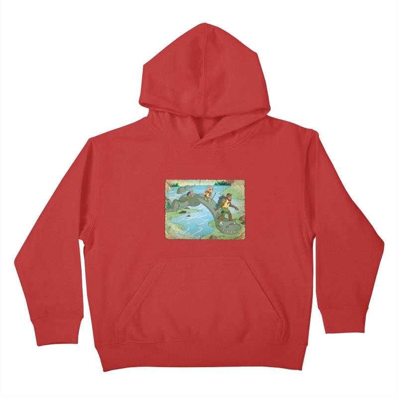 Campfire Mythology 1 Kids Pullover Hoody by Twin Comics's Artist Shop