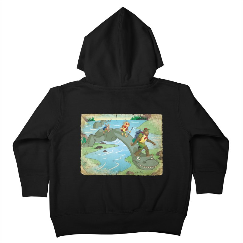 Campfire Mythology 1 Kids Toddler Zip-Up Hoody by Twin Comics's Artist Shop