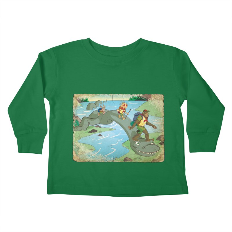 Campfire Mythology 1 Kids Toddler Longsleeve T-Shirt by Twin Comics's Artist Shop