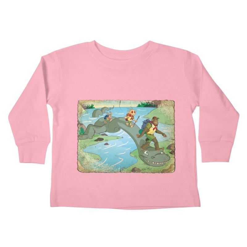 Campfire Mythology 1 Kids Toddler Longsleeve T-Shirt by Twin Comics's Artist Shop