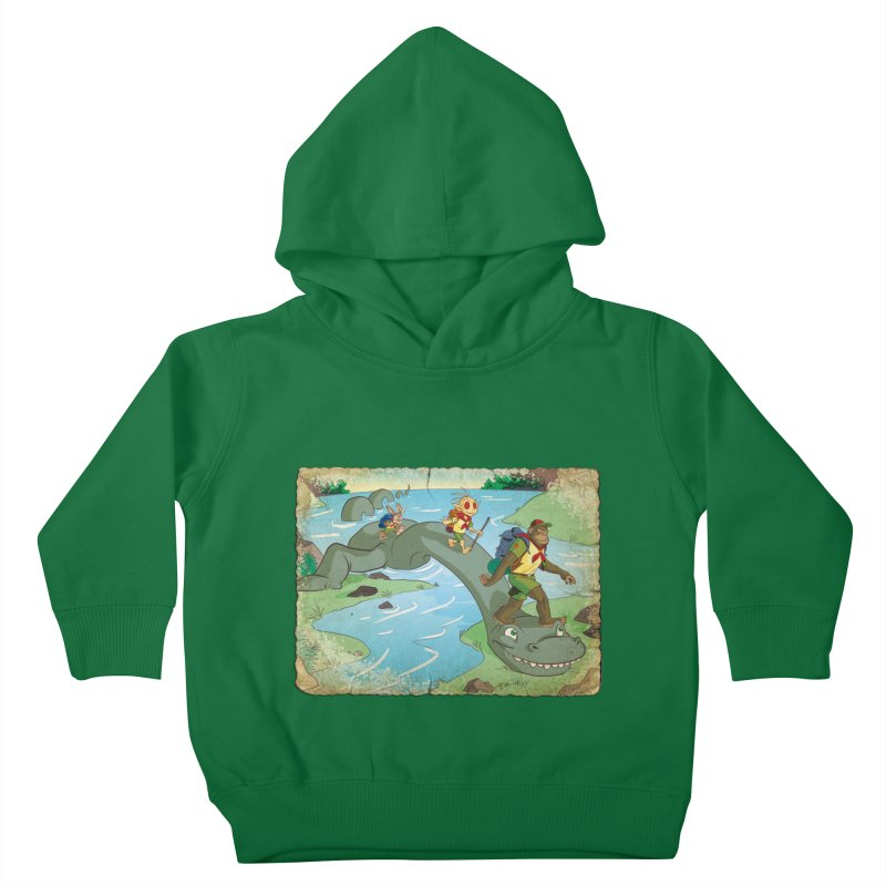 Campfire Mythology 1 Kids Toddler Pullover Hoody by Twin Comics's Artist Shop