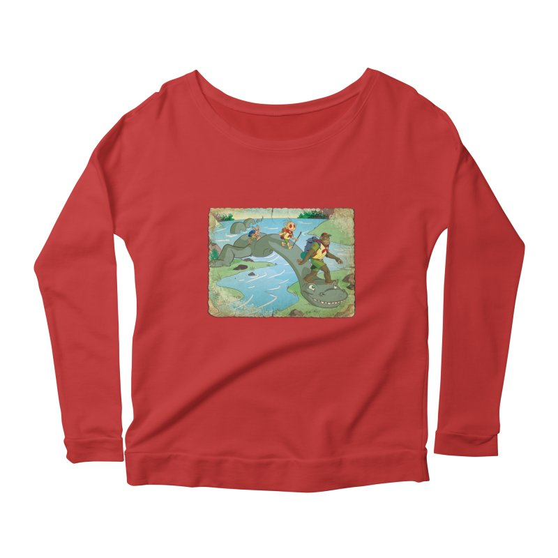 Campfire Mythology 1 Women's Scoop Neck Longsleeve T-Shirt by Twin Comics's Artist Shop