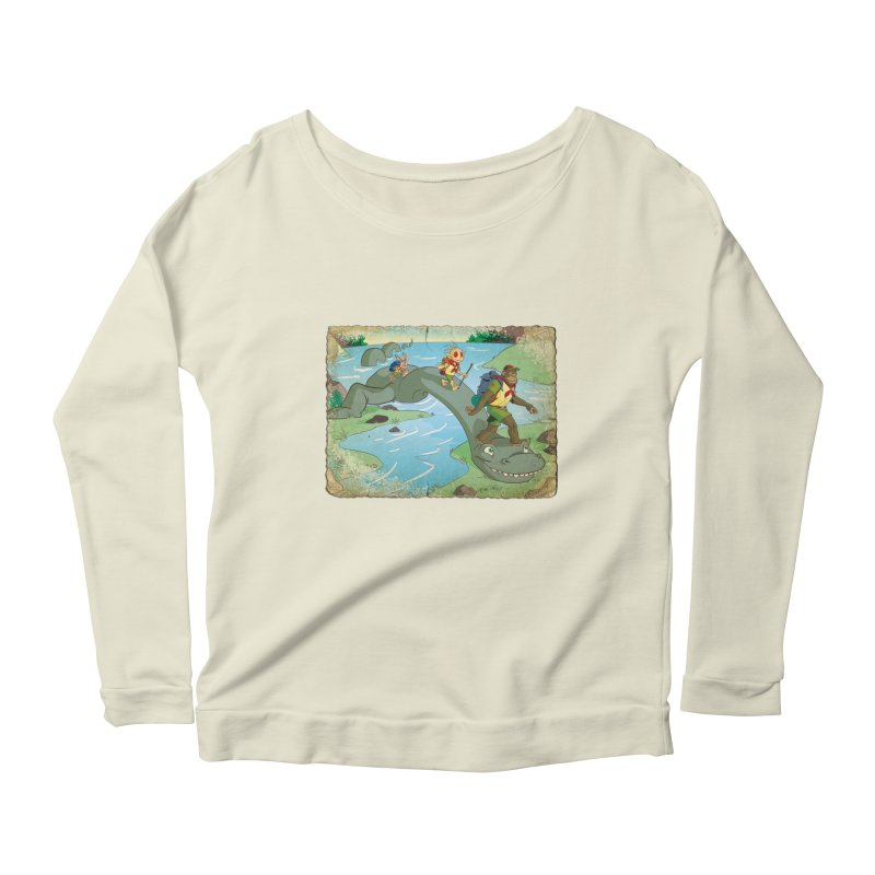 Campfire Mythology 1 Women's Scoop Neck Longsleeve T-Shirt by Twin Comics's Artist Shop