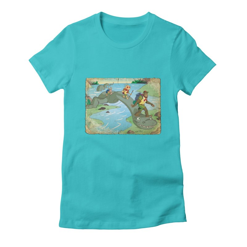 Campfire Mythology 1 Women's Fitted T-Shirt by Twin Comics's Artist Shop