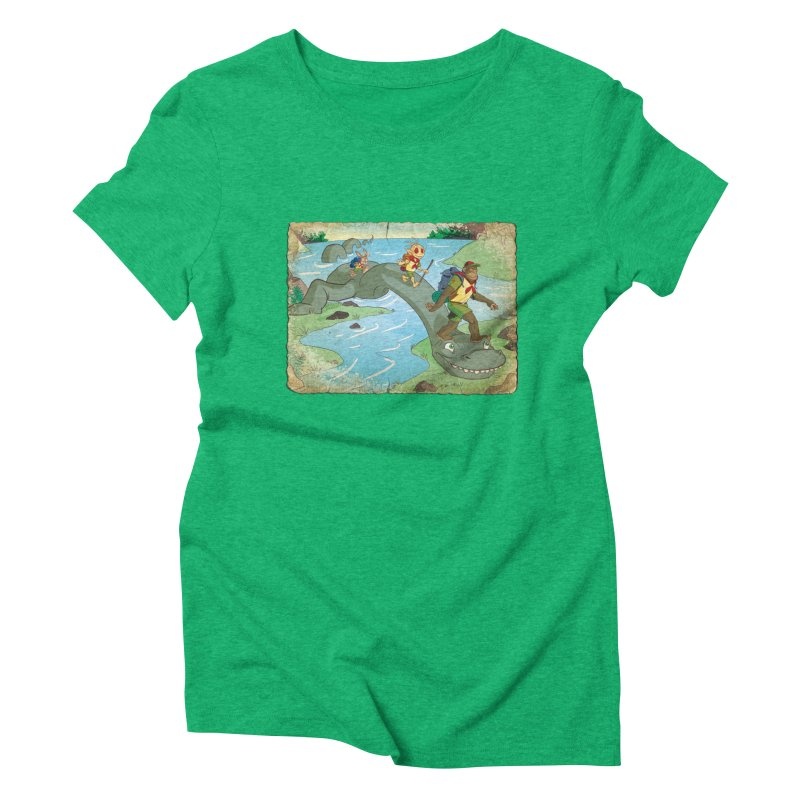 Campfire Mythology 1 Women's Triblend T-Shirt by Twin Comics's Artist Shop