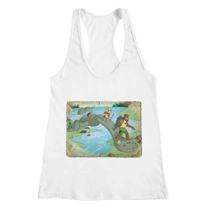 Campfire Mythology 1 Women's Racerback Tank by Twin Comics's Artist Shop