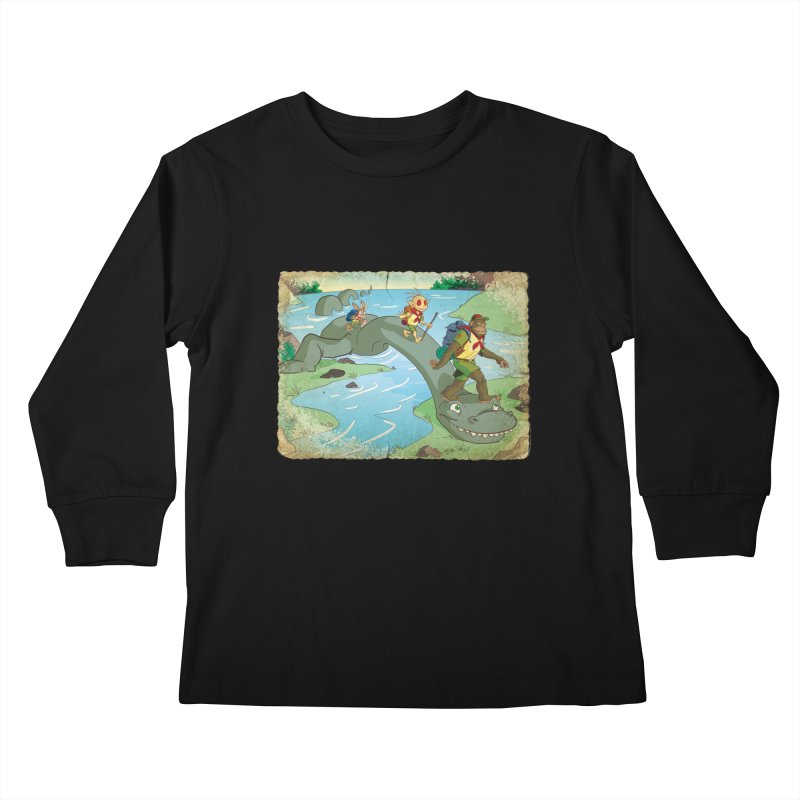 Campfire Mythology 1 Kids Longsleeve T-Shirt by Twin Comics's Artist Shop